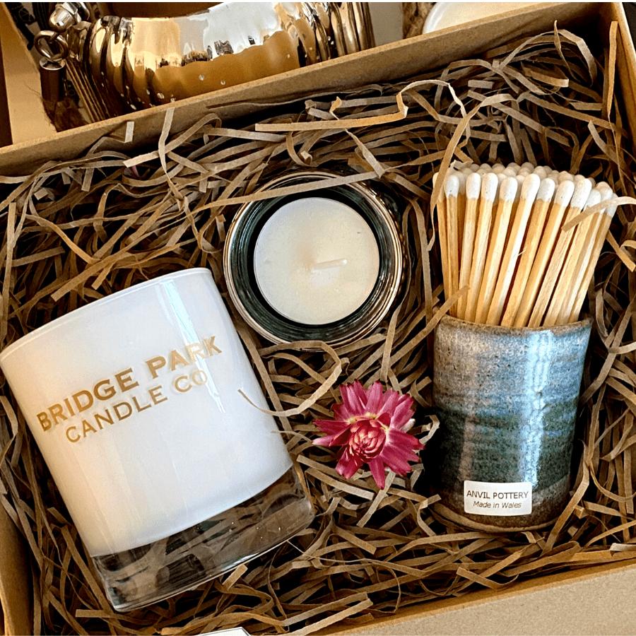 Candle Match Pot Gift Box