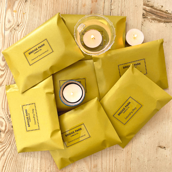 Scented soy wax tealights
